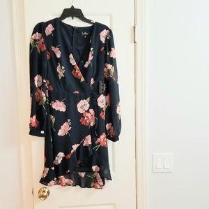 NEW Lulu's floral dress XS